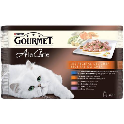 Gourmet a la carte multipack Las Recetas del Chef II