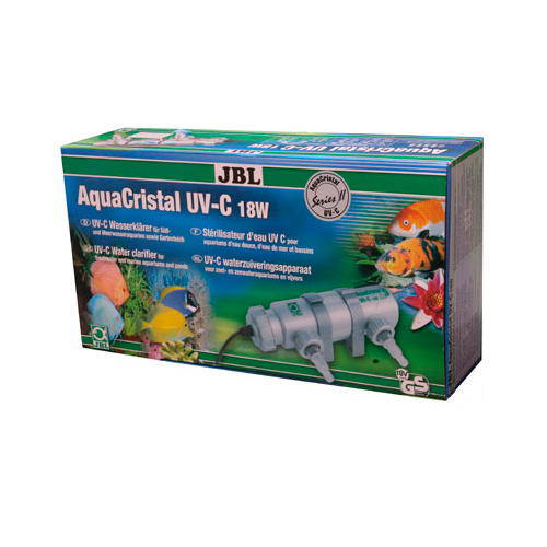 JBL Aquacristal UV-C Serie II Water clarifier for aquariums