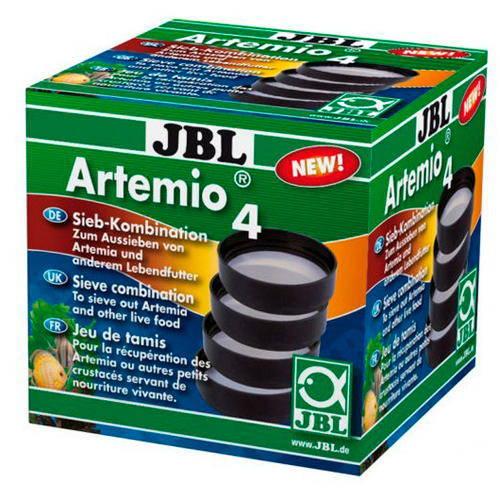 JBL Artemio 4 tamices para clasificación de alimento vivo