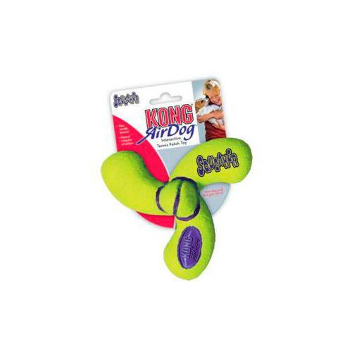 KONG Air Dog Squeaker Spinner juguete para perros