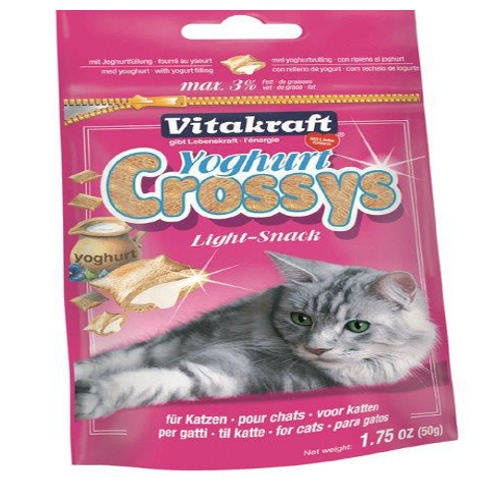 Vitakraft Yogurt Crossys para gatos 50g