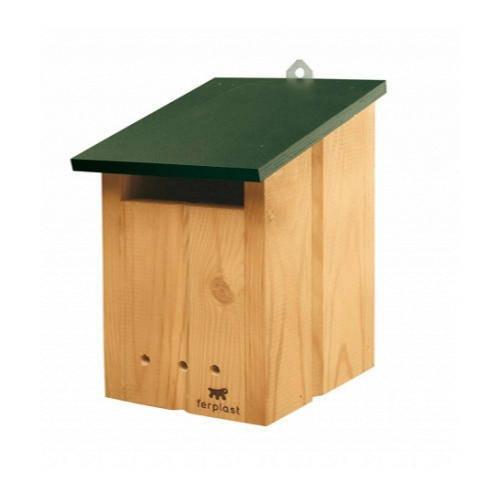 Nido de madera para aves silvestres o grandes jaulas