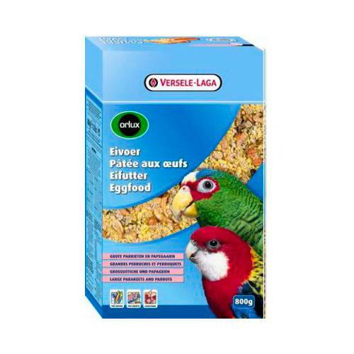 Pasta de huevo seca Orlux para ninfas, grandes periquitos y loro