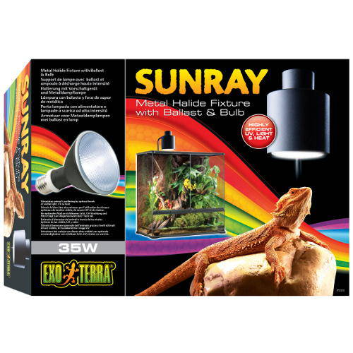 EXO TERRA Sunray Lampara de mercurio+balastro