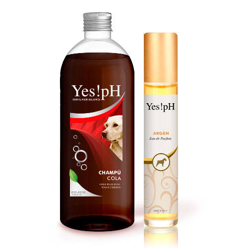 Pack Yes!pH champú y perfume para perros y gatos