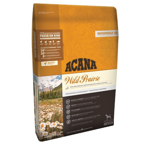 Acana Wild Prairie with chicken for dogs