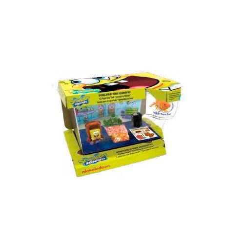 Kit completo acuario infantil Bob Esponja