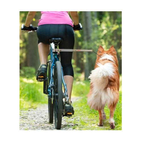 Adaptador para pasear con mi perro en bicicleta Walkydog