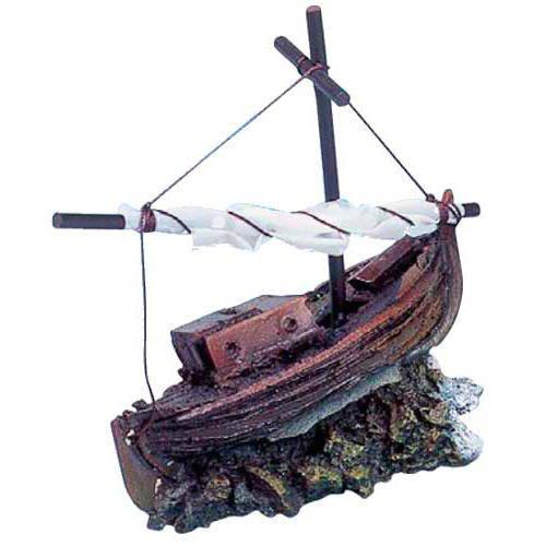 Barca pesquera para decoracion de acuarios