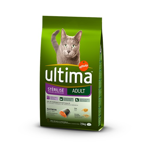 Affinity Ultima Adult Sterilized cat feed with salmon