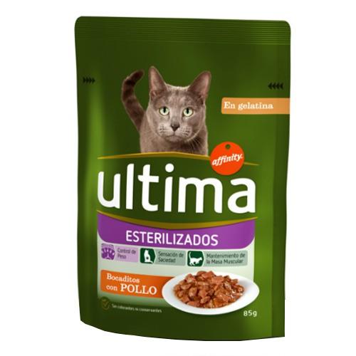 Affnity Ultima Esterilizados comida húmeda para gatos