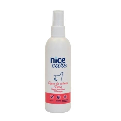 Agua de colonia para perros Nice Care Fresa 125 ml