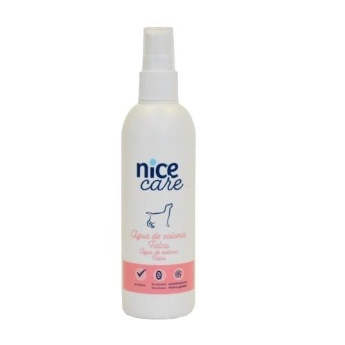 Agua de colonia para perros Nice Care Talco 125 ml