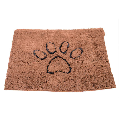 Alfombra para perros súper absorbente Dirty Dog marrón