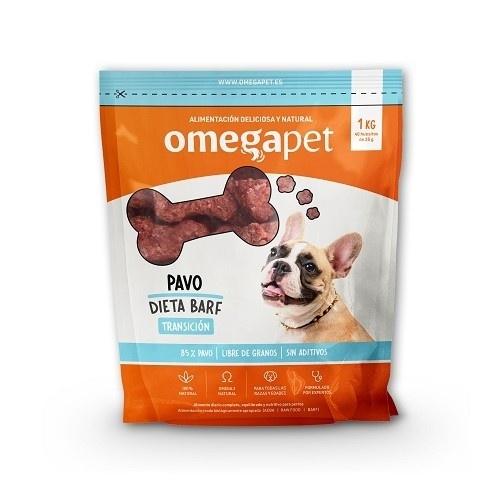 Alimentación de dieta BARF de Transición de pavo para perros