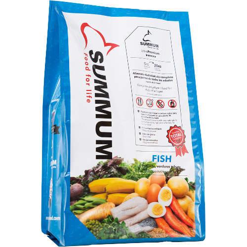 Alimento deshidratado para perros Summum Fish
