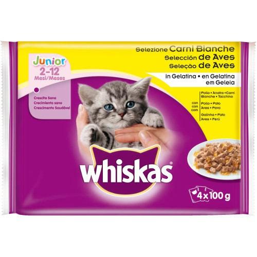 Alimento h medo para gatitos whiskas simplemente bueno junior tiendanimal - Comida para cachorros de un mes ...