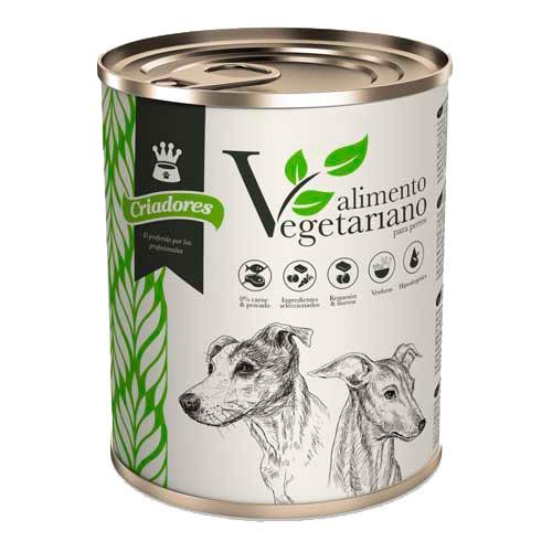 Alimento húmedo vegetariano para perros Criadores