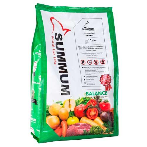 Alimento 100% natural para perros Summum Balance