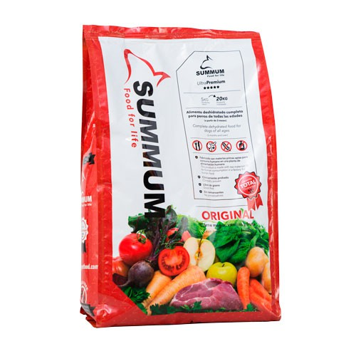 Alimento 100% Natural para perros Summum Original