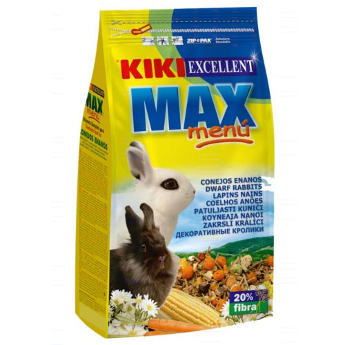 Alimento para Conejos enanos KIKI MAX MENÚ
