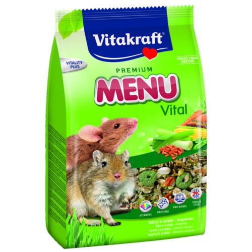 Alimento para gerbos y ratones Vitakraft Menu