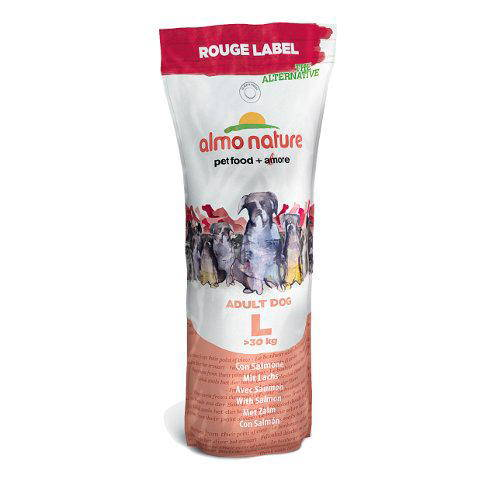 Almo Nature Rouge Label Adult L Salmón pienso para perros