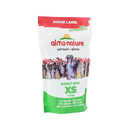 Almo Nature Rouge Label Adult XS Cordero pienso para perros