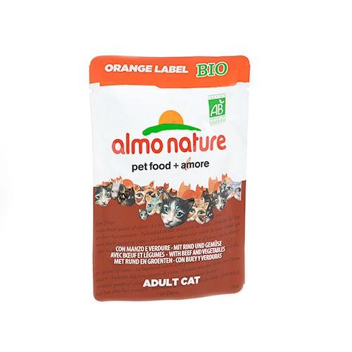 Almo Nature Orange Label BIO alimento húmedo natural para gatos