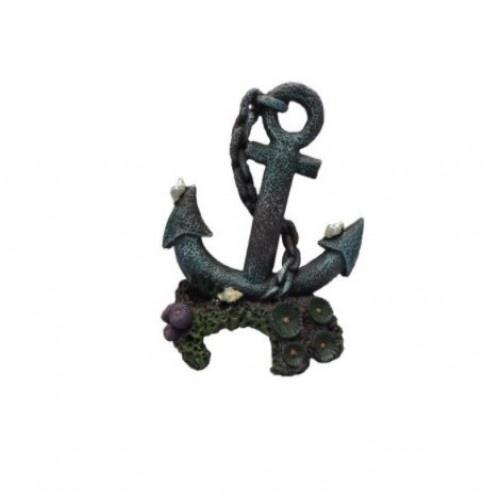 Ancla de decoración para acuarios color Negro