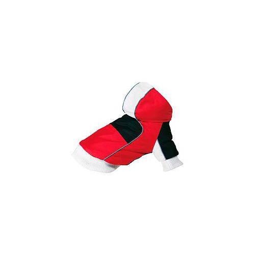 Anorak Snow reversible blanco, rojo y negro