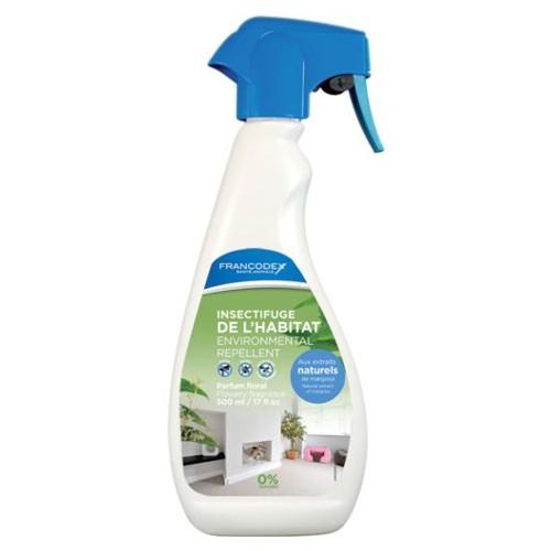 Antiparasitario natural para perros y gatos ambiental en spray Francodex