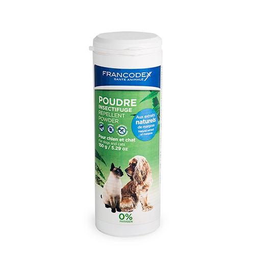 Antiparasitario natural para perros y gatos en polvo Francodex