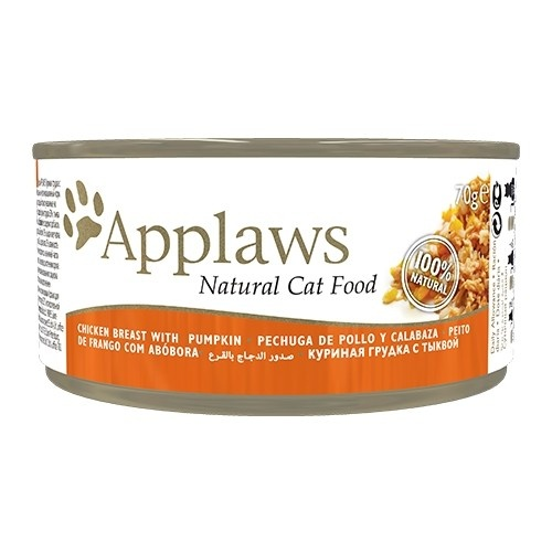 Applaws - Alimento fresco en latas Presentación Pechuga de pollo y calabaza