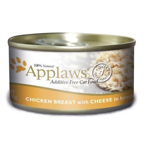Applaws - Alimento fresco en latas Presentación Pechuga de pollo y queso