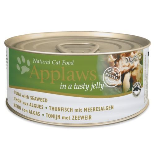 Applaws comida húmeda para gatos de atún con algas en gelatina
