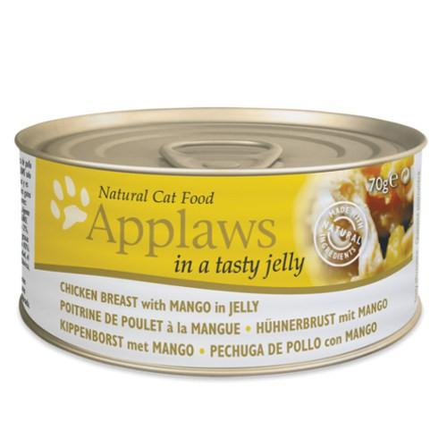 Applaws comida húmeda para gatos de pollo con mango en gelatina