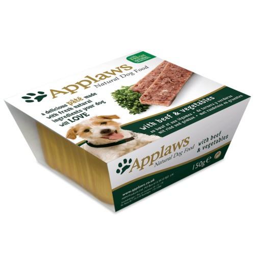 Applaws comida húmeda en paté de ternera y verduras para perros