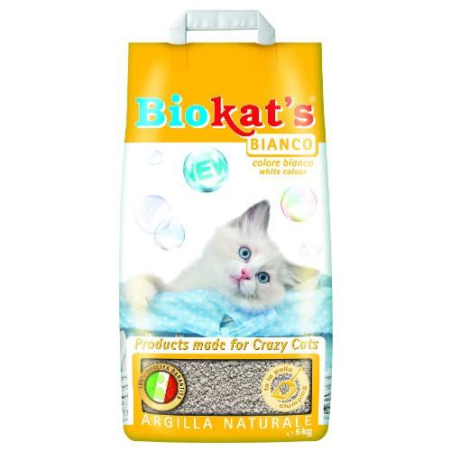 Arena aglomerante para gatos Biokat´s Bianco