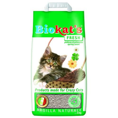 Arena aglomerante para gatos perfurmada Biokat´s Fresh