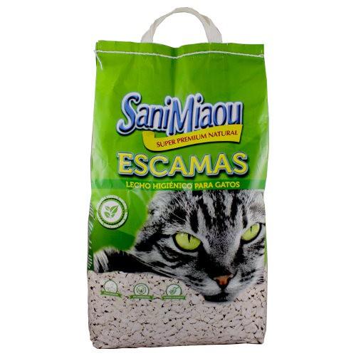 Arena para gatos SaniMiaou en escamas