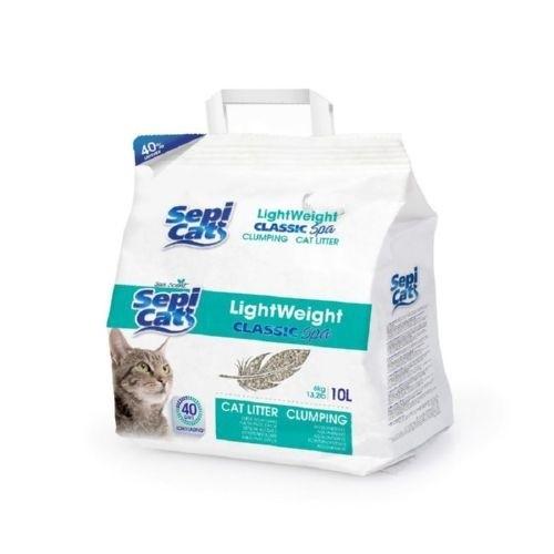 Arena para gatos Sepicat natural aroma SPA