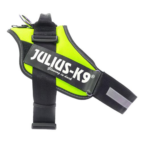 Ergonomic harness Julius K9 IDC neon