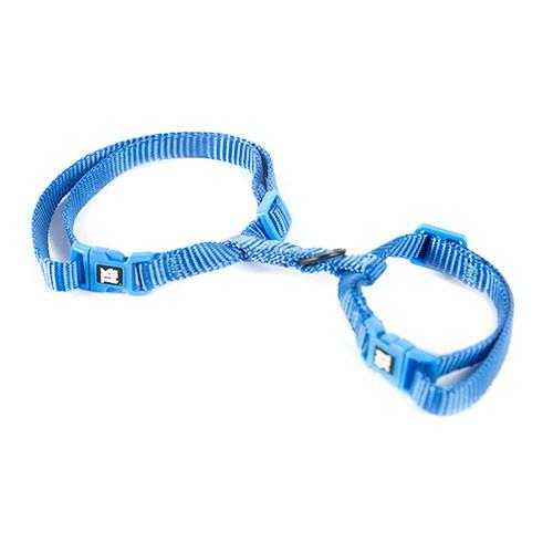 Arnés para gatos TK-Pet Classic Nylon azul