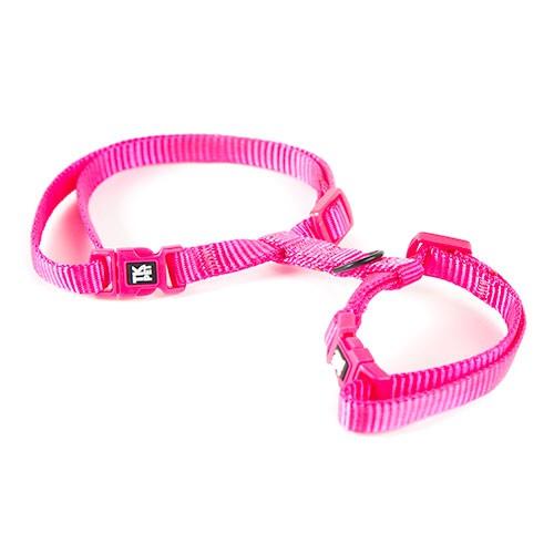 Arnés para gatos TK-Pet Classic Nylon rosa