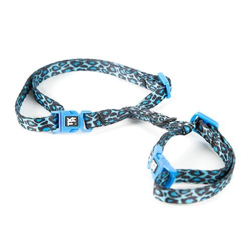 Arnés para gatos TK-Pet Safari pantera azul