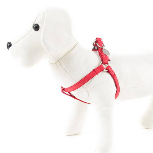 Arnés para perros MacLeather Classic Color Rojo