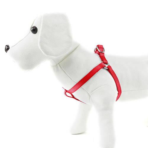 Arnés para perros de nylon Linea Basic Color Rojo