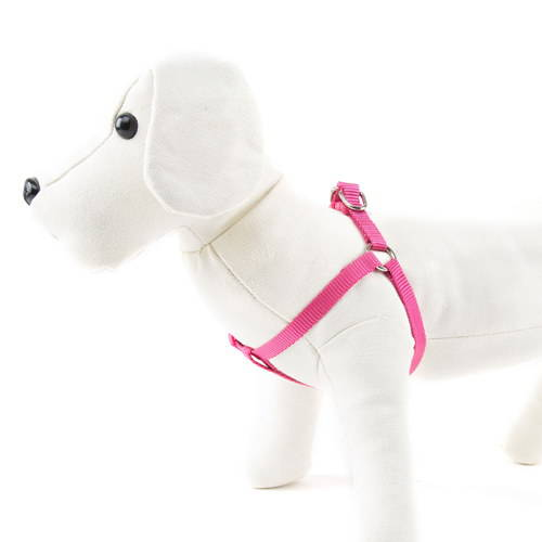 Arn s para perros de nylon linea basic color rosa for Nylon para estanques