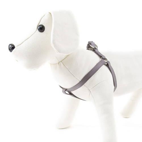 Arnés para perros de nylon Linea Basic Color Visón